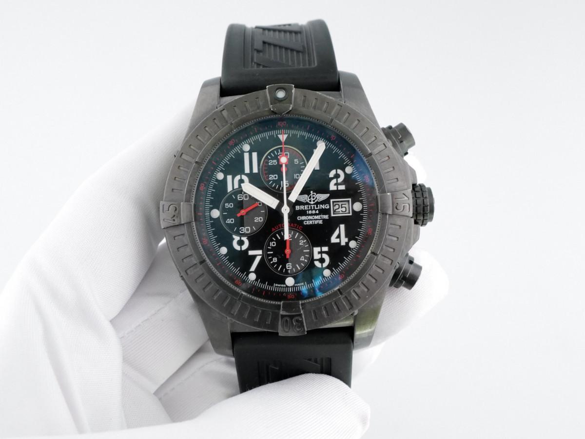 Швейцарские часы Breitling Super Avenger Blacksteel Chronograph Limited Edition