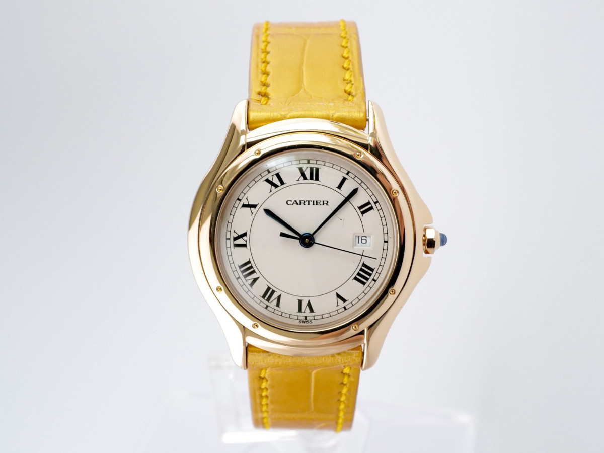 Швейцарские часы Cartier Cougar