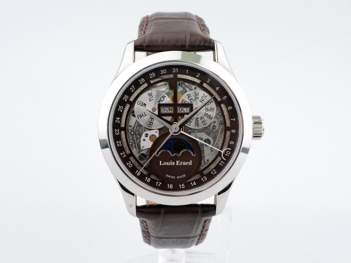 Швейцарские часы Louis Erard 1931 Moon Phase Calendar