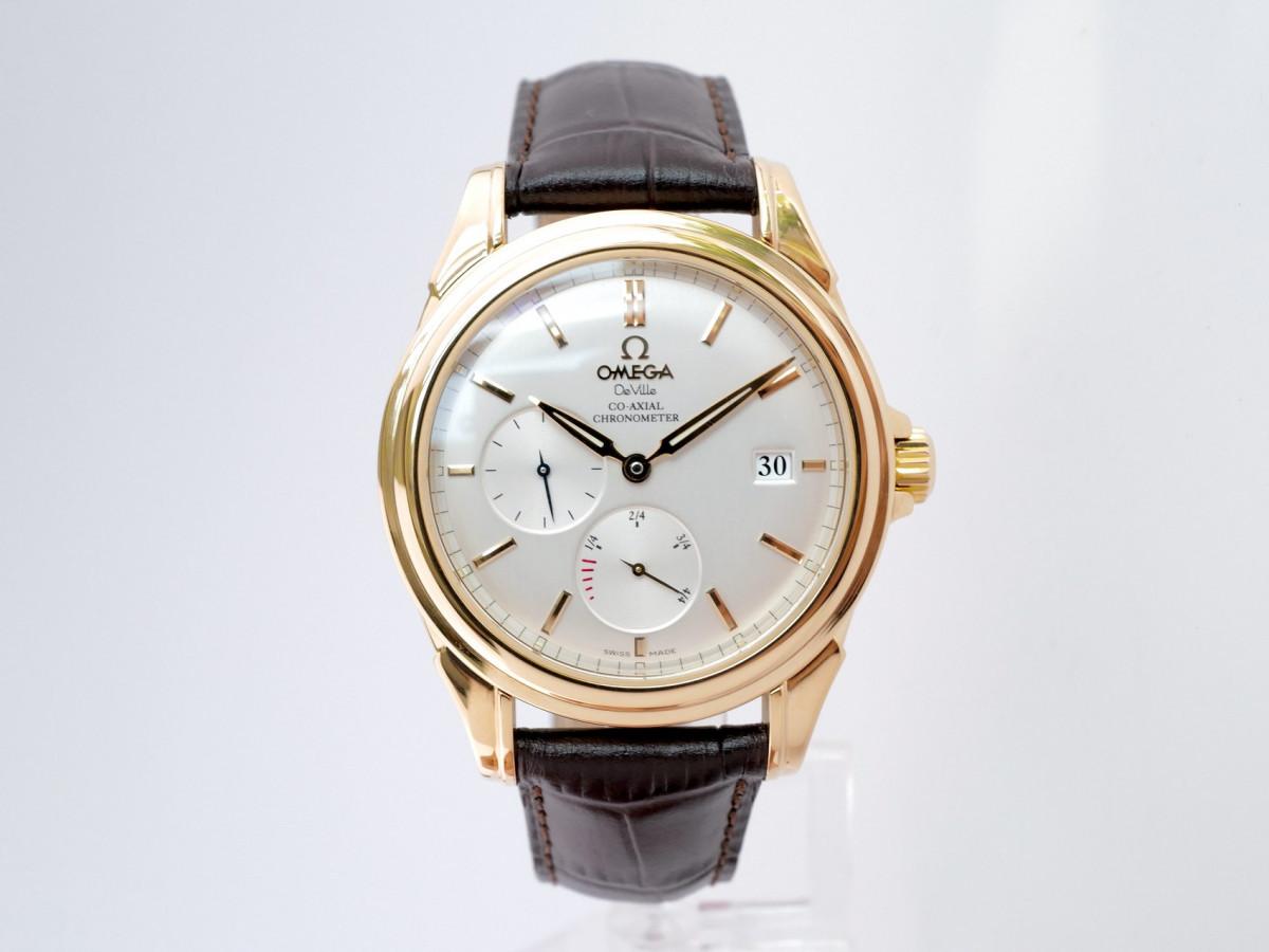 Швейцарские часы Omega De Ville Co-Axial Power Reserve 18K Yellow Gold