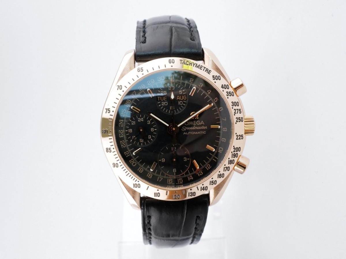 Швейцарские часы Omega Speedmaster Day Date 18K Rose Gold