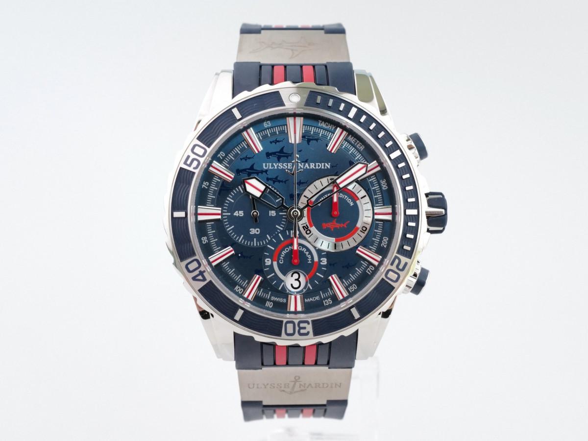Швейцарские часы Ulysse Nardin Diver Chronograph Shark Limited