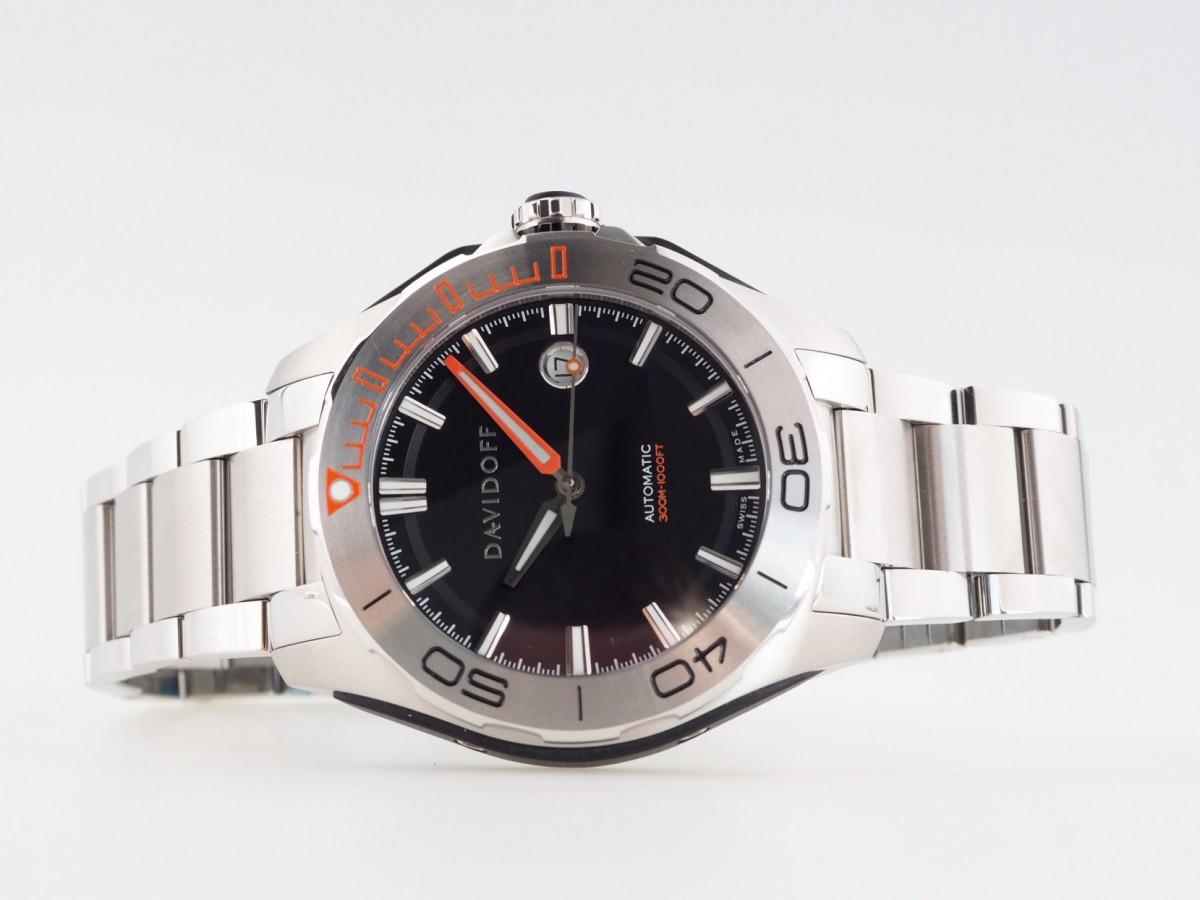 Швейцарские часы Davidoff Velocity Diver Automatic Black 22442
