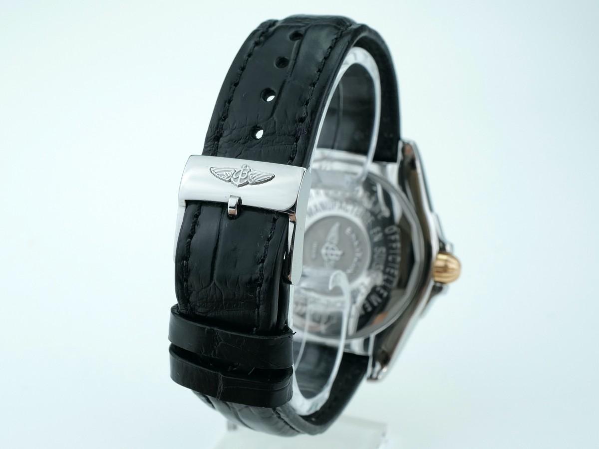 Швейцарские часы Breitling Galactic 41 Gold/Steel C49350L2