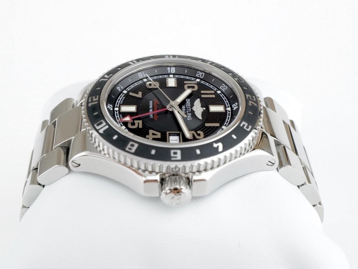 Швейцарские часы Breitling Superocean GMT