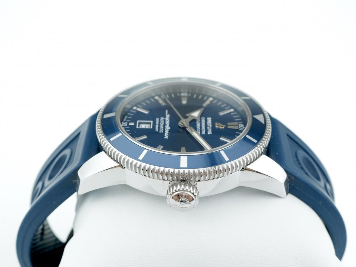 Швейцарские часы Breitling Superocean Heritage 46 Blue