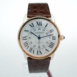Швейцарские часы Cartier Ronde Solo de Cartier 42mm 18k Rose Gold W6701009