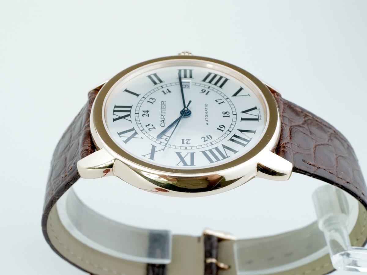 Швейцарские часы Cartier Ronde Solo de Cartier 42mm 18k Rose Gold W6701009