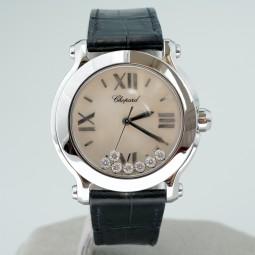 Швейцарские часы Chopard Happy Sport 7 Floating Diamonds