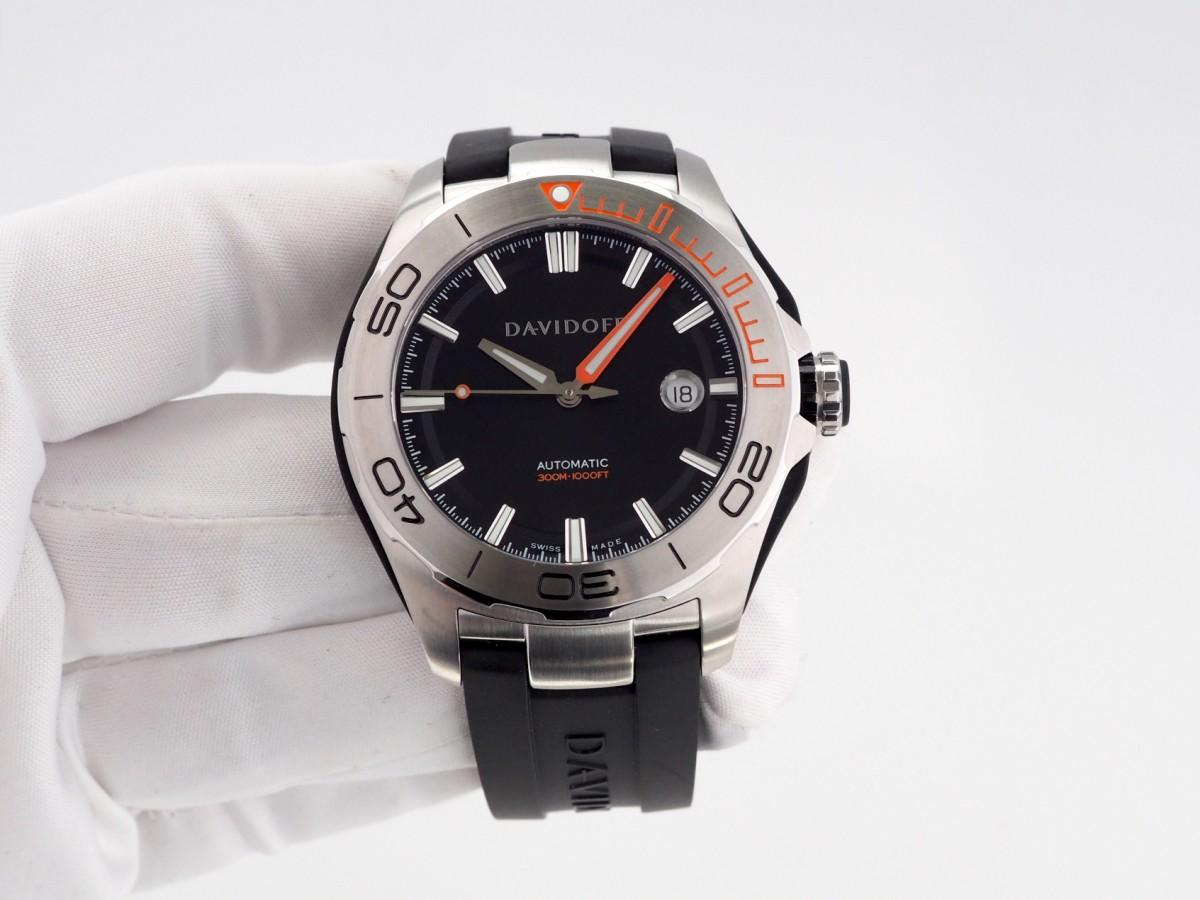 Швейцарские часы Davidoff Velocity Diver Black 22439