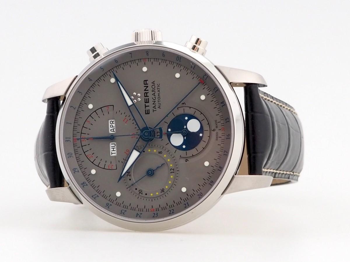 Швейцарские часы Eterna Tangaroa Moonphase Chronograph