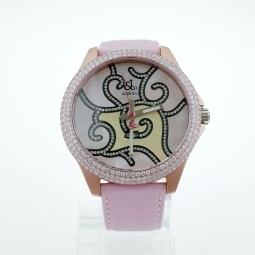 Швейцарские часы Jacob & Co. One Time Zone Mother of Pearl Diamond Ladies