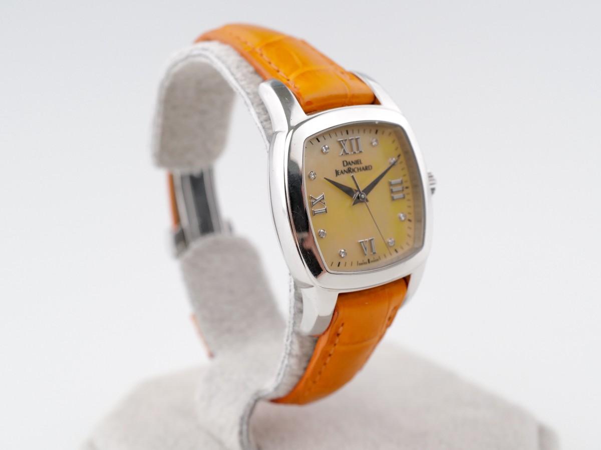 Швейцарские часы JeanRichard TV Screen Lady Orange Quartz
