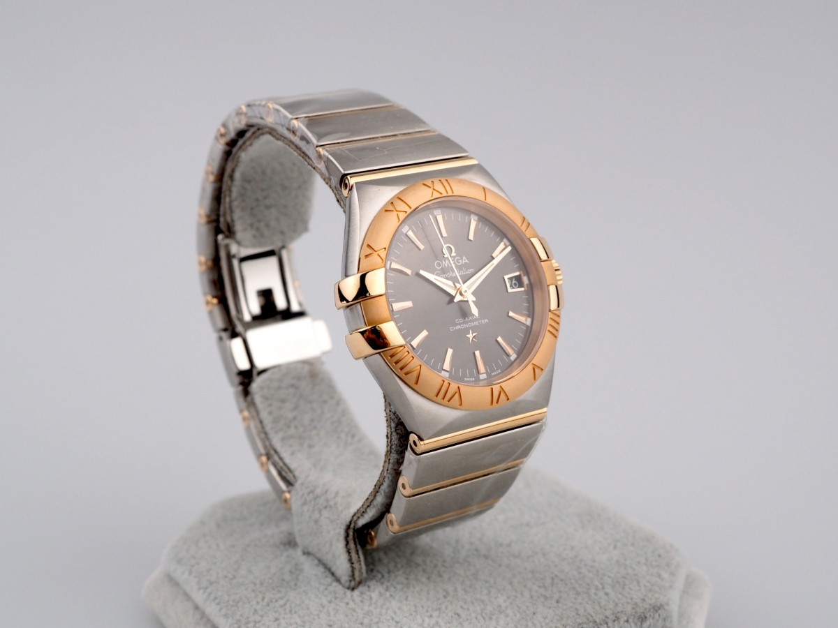 Швейцарские часы Omega Constellation 18kt Rose Gold & Steel Gray Automatic