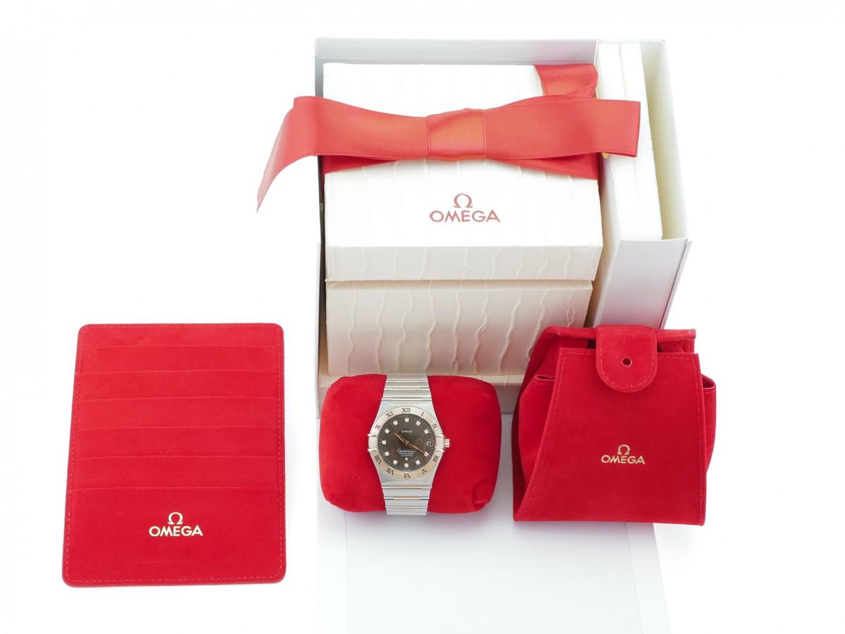 Швейцарские часы Omega Constellation Diamond Dial