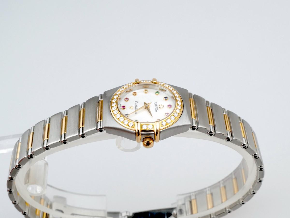 Швейцарские часы Omega Constellation Iris Steel Yellow Gold 1367.79.0
