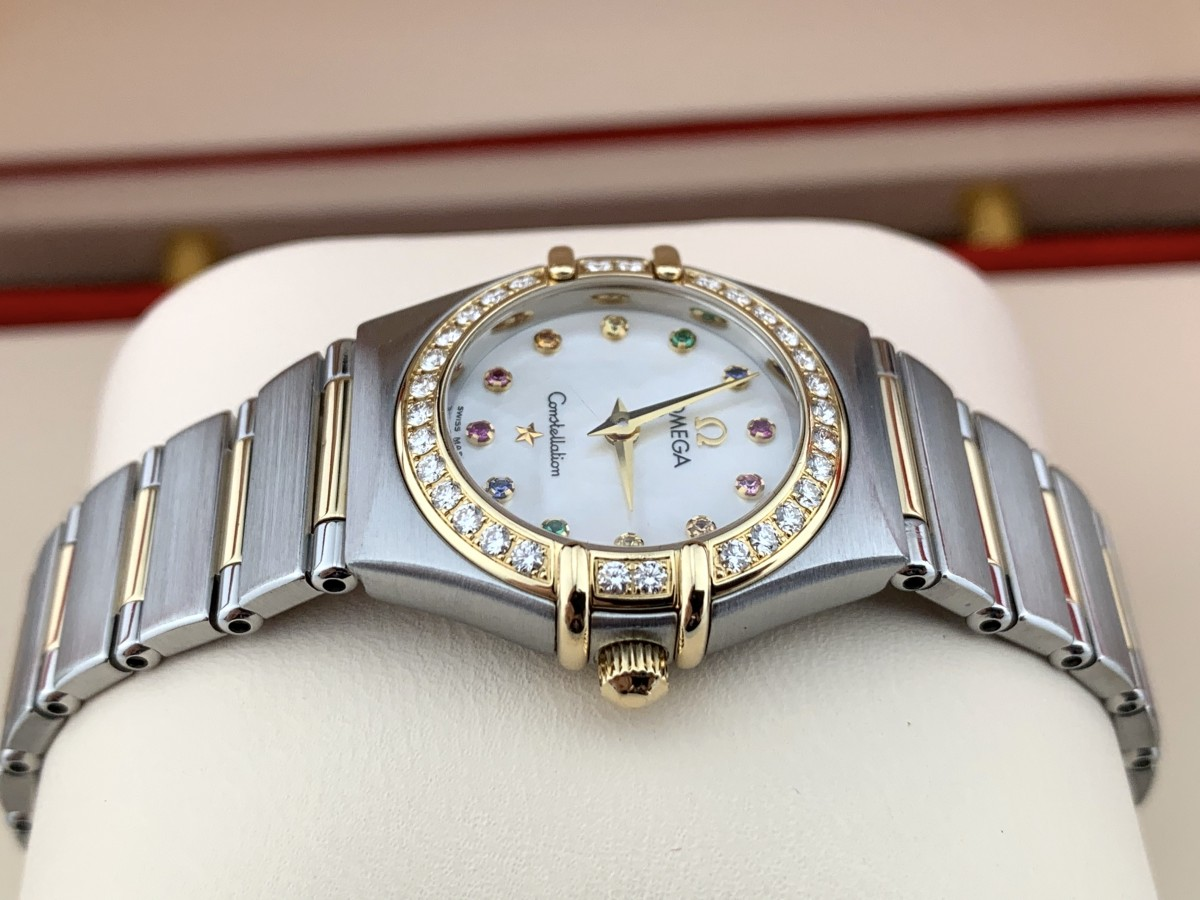 Швейцарские часы Omega Constellation Iris Steel Yellow Gold 1367.79.0