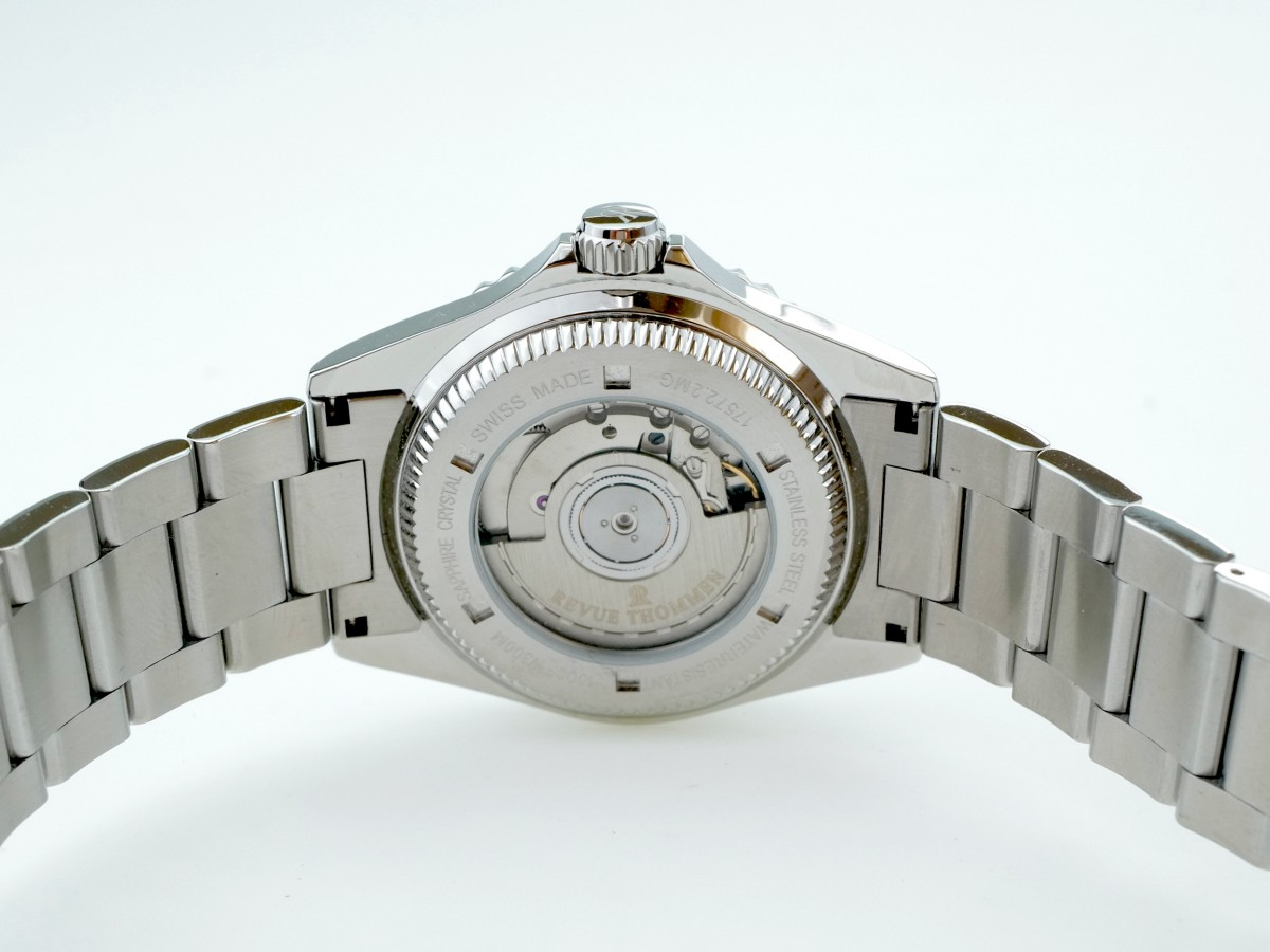 Швейцарские часы Revue Thommen Diver GMT 17572.2138