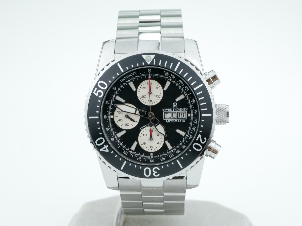 Швейцарские часы Revue Thommen Diver Professional Automatic Chronograph