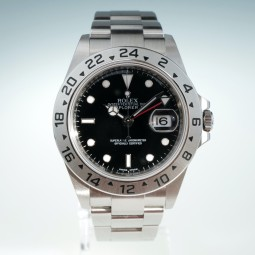 Швейцарские часы Rolex Explorer II Black Dial Automatic 16570