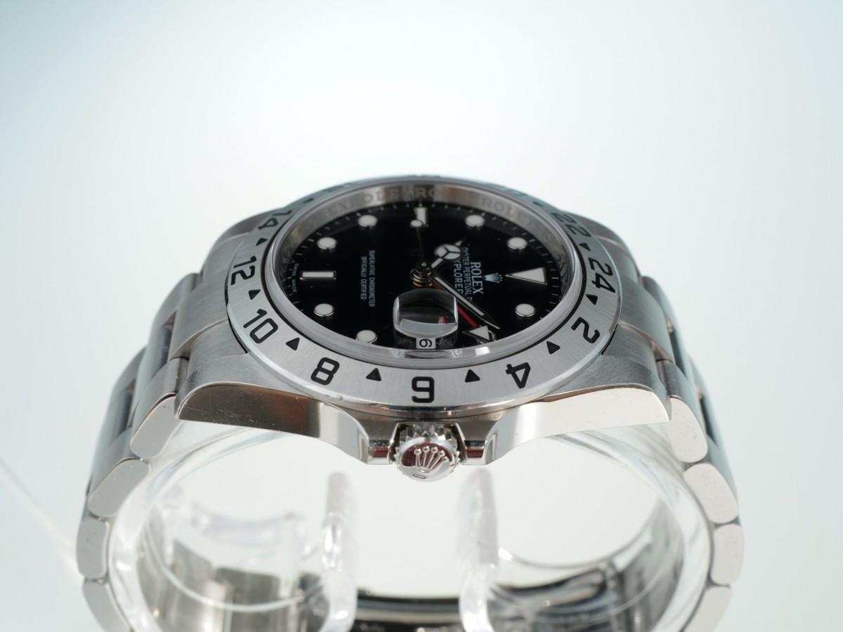Швейцарские часы Rolex Explorer II Black Dial Automatic 16570