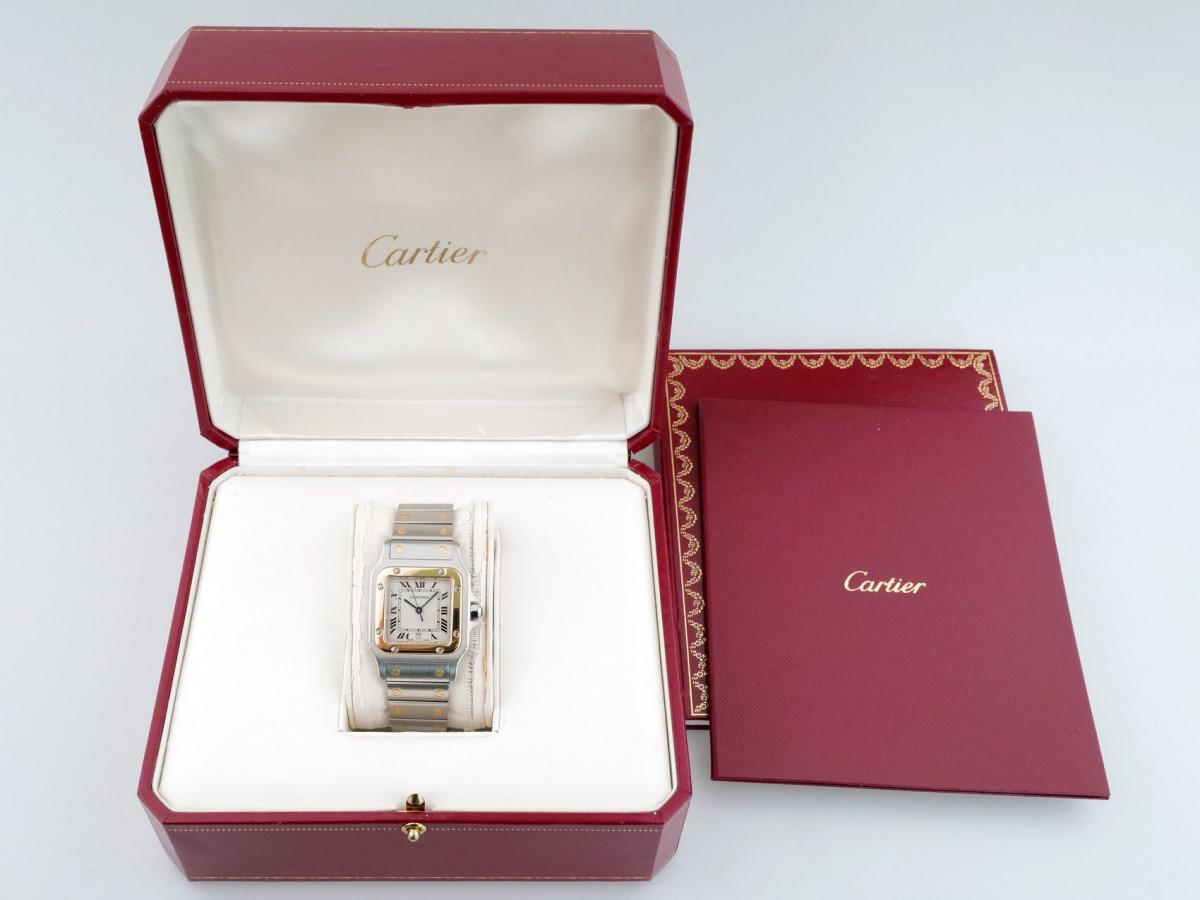 Швейцарские часы Cartier Santos De Cartier Quartz W20011C4