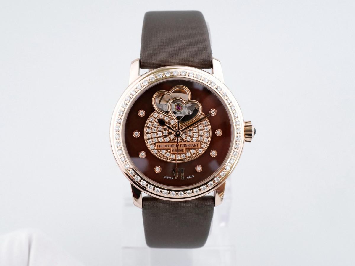 Швейцарские часы Frederique Constant Double Heart Beat Ladies Automatic Diamond