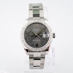 Швейцарские часы Rolex Datejust 31mm Steel and White Gold