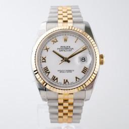 Швейцарские часы Rolex Datejust 36 Automatic Chronometer Steel Yellow Gold