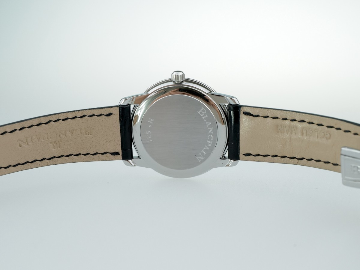 Швейцарские часы Blancpain Villeret Ultra Slim Power Reserve