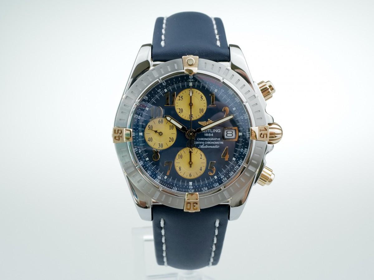 Швейцарские часы Breitling Chronomat Evolution 18K Gold