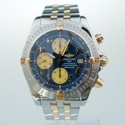 Швейцарские часы Breitling Chronomat Evolution 18K Gold B13356 44mm