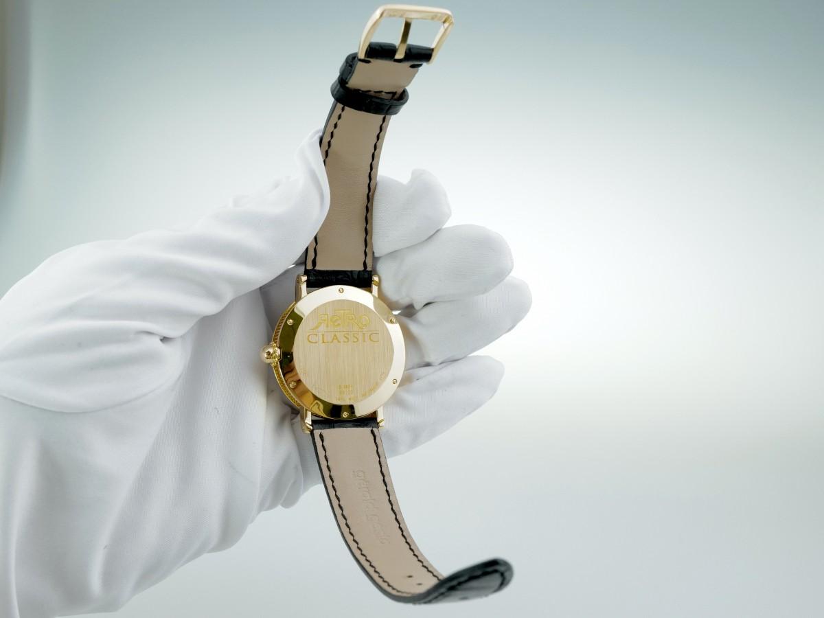 Швейцарские часы Gerald Genta Retro Jumping Hour