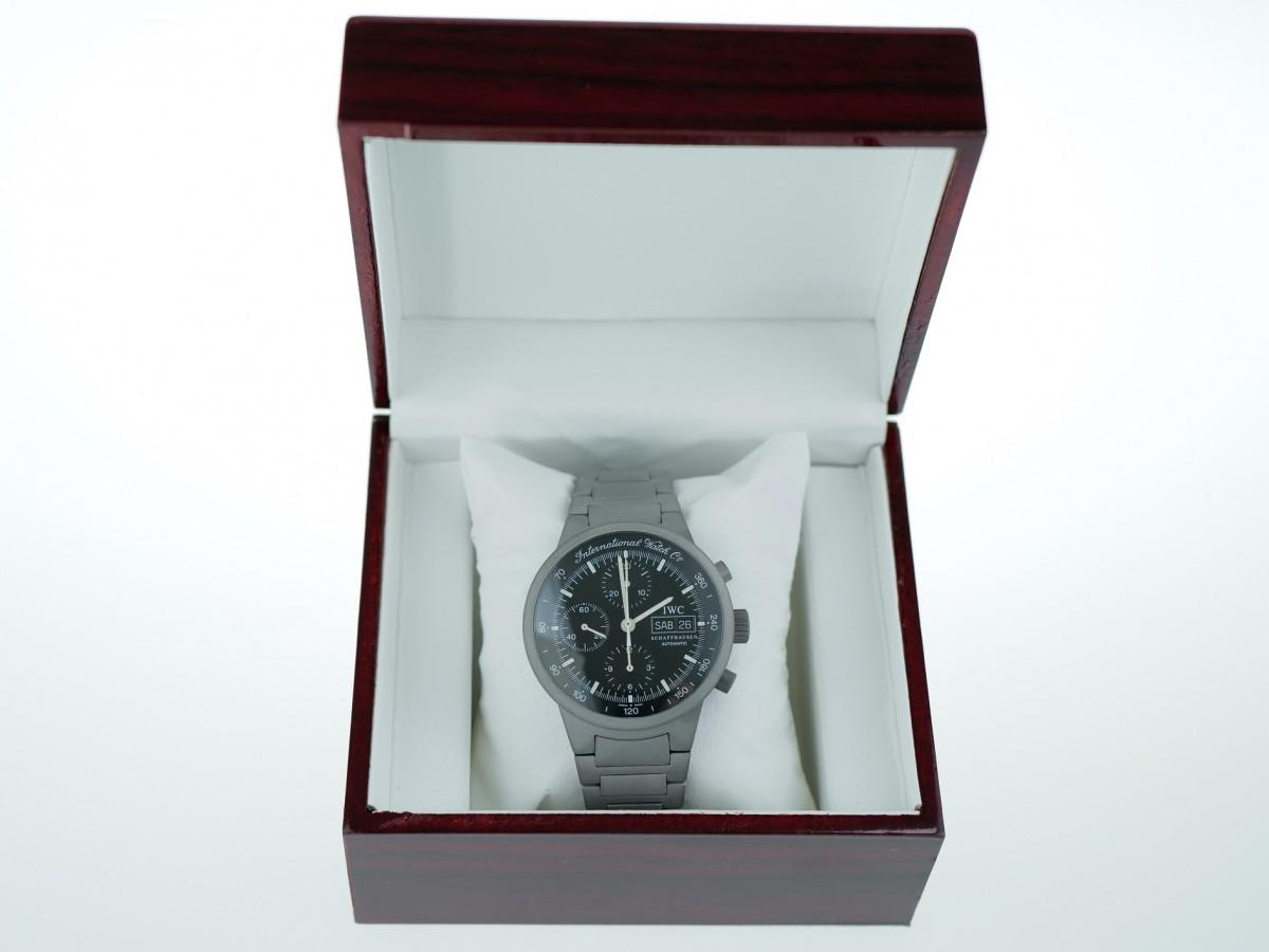 Швейцарские часы IWC GST Titanium Chronograph Automatic