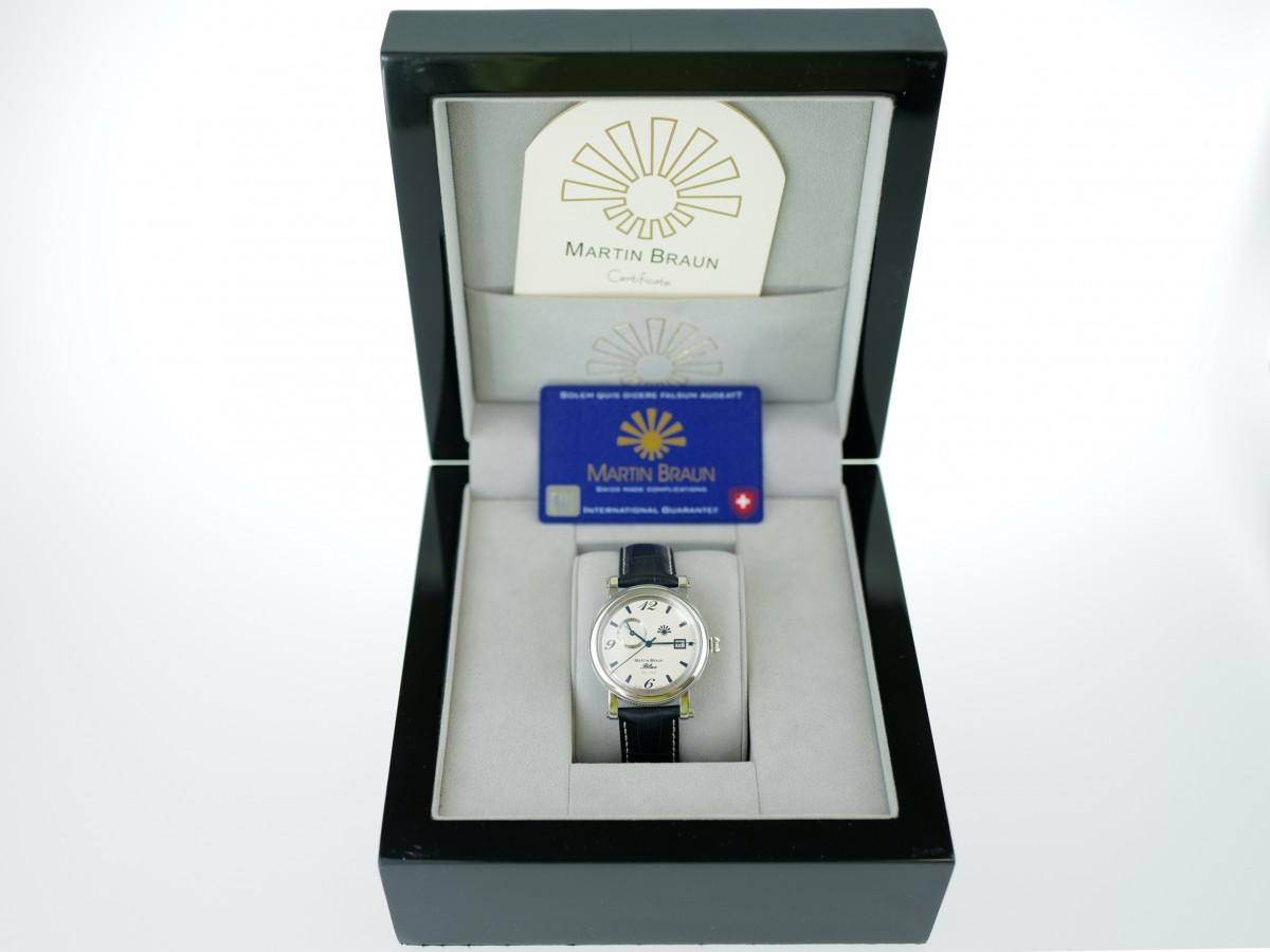 Швейцарские часы Martin Braun Blue 24 Limited Edition