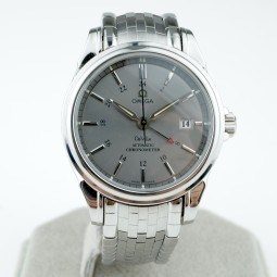 Швейцарские часы Omega De Ville Co-axial Gmt Chronometer 4533.40.00
