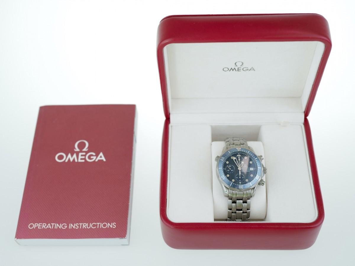 Швейцарские часы Omega Seamaster 300M Chrono Diver Titanium Chronograph