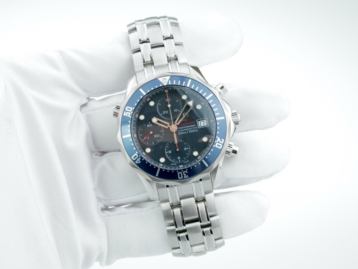 Швейцарские часы Omega Seamaster 300m Chronograph Ref. 2225.80.00