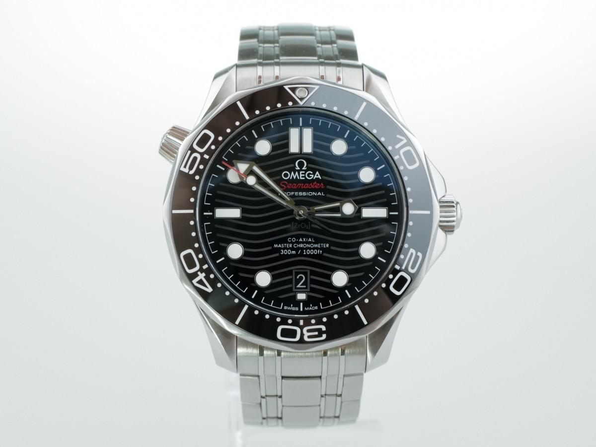 Швейцарские часы Omega Seamaster Diver 300m 42mm 21030422001001