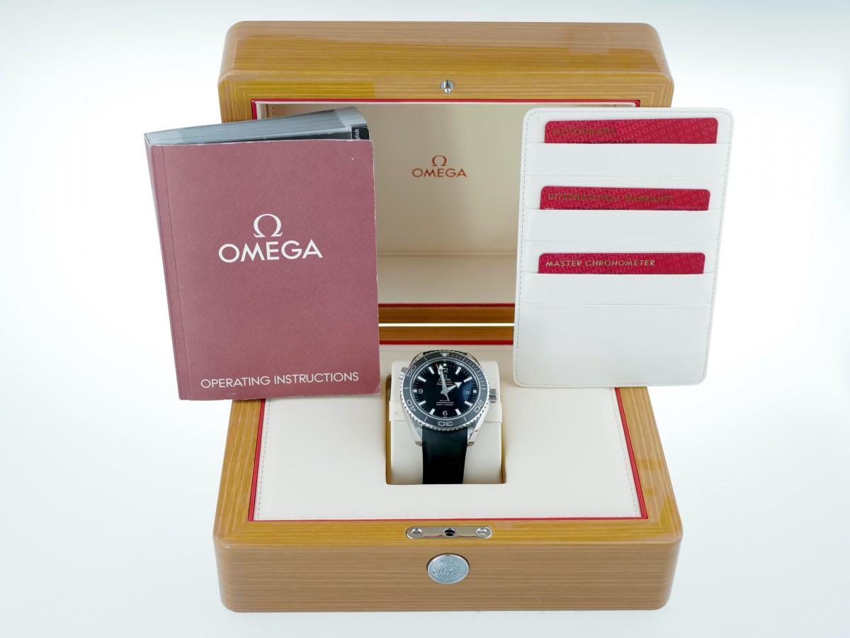 Швейцарские часы Omega Seamaster Planet Ocean 600m 45.5mm