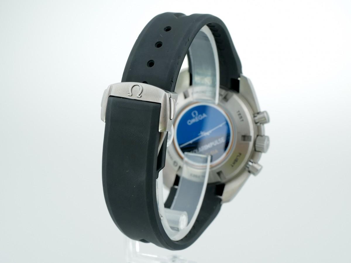 Швейцарские часы Omega Speedmaster HB-SIA Co-Axial GMT Chronograph