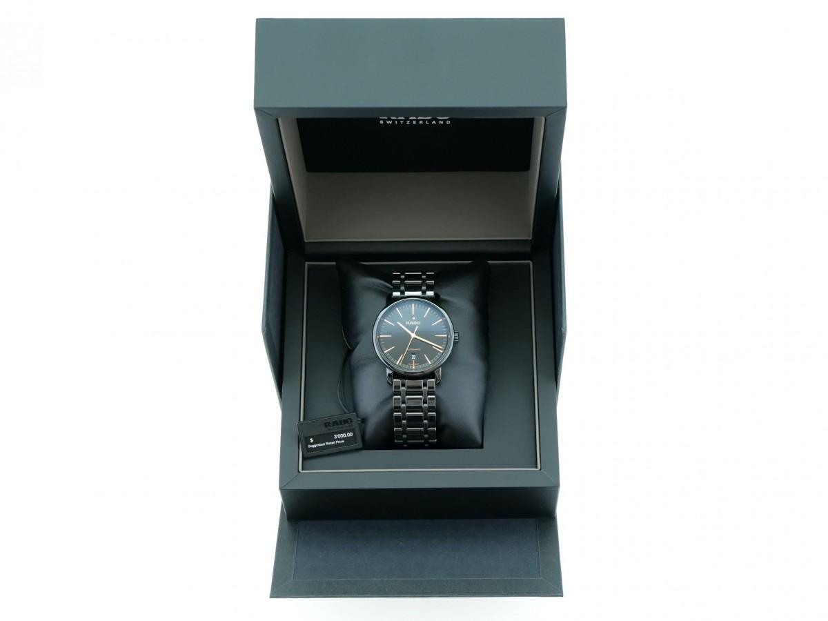 Швейцарские часы Rado Diamaster Xl Automatic Date Black
