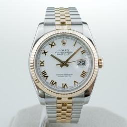 Швейцарские часы Rolex Datejust 116233 18k Gold 36mm