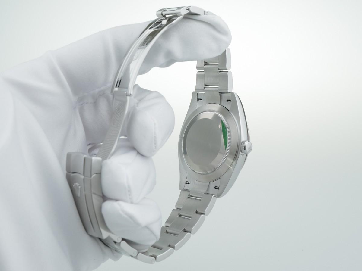 Швейцарские часы Rolex Datejust Oyster Blue Dial 18K White Gold Bezel