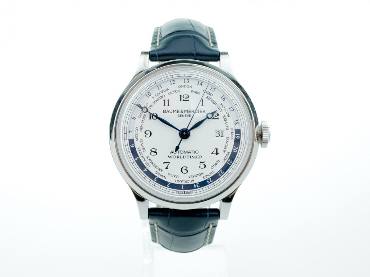 Швейцарские часы Baume & Mercier Capeland Worldtimer