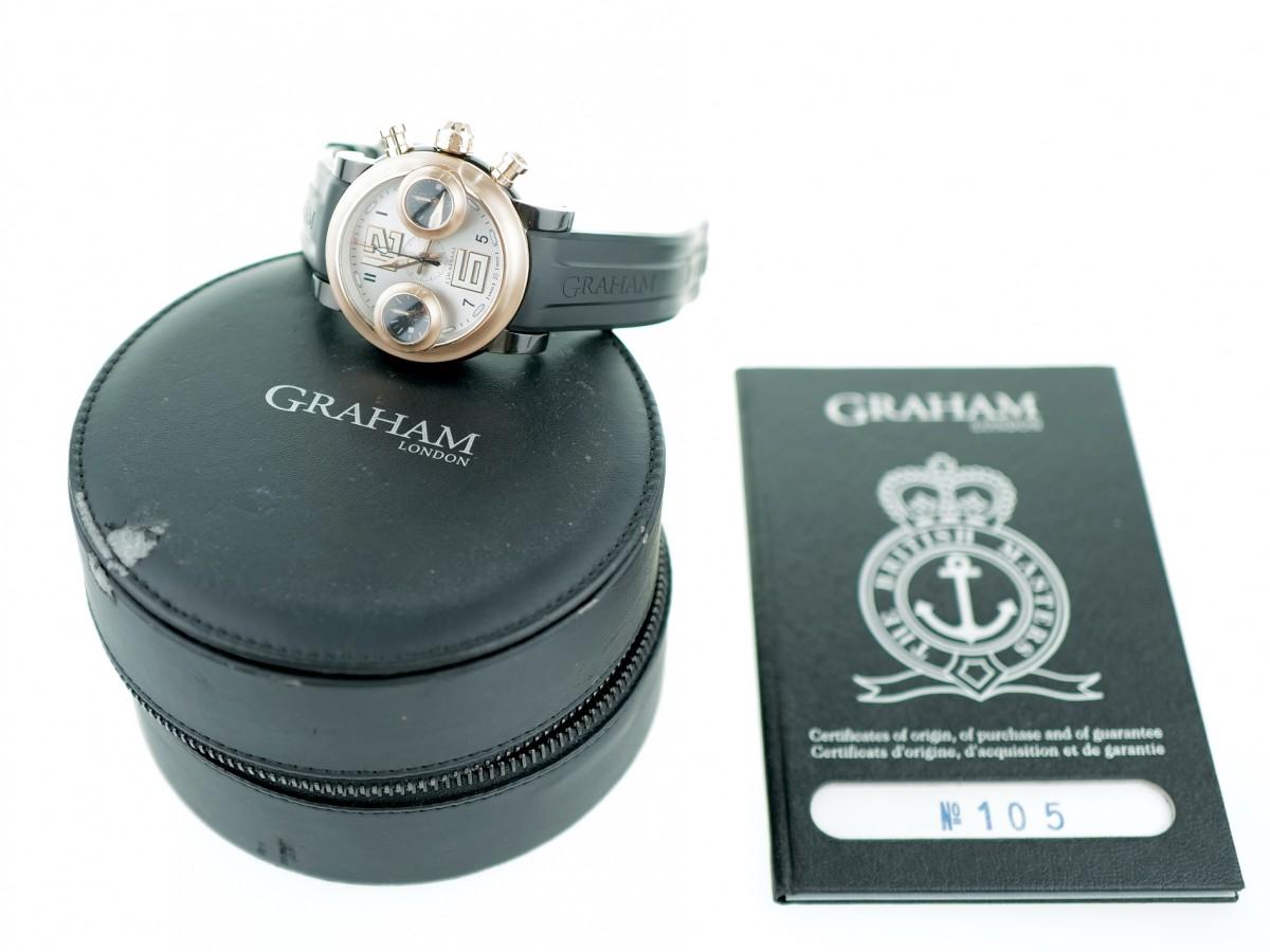 Швейцарские часы Graham Swordfish Big 18K Rose Gold