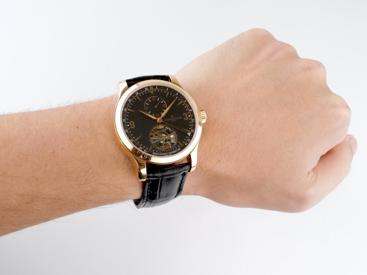 Швейцарские часы Jaeger-LeCoultre Master Grand Tourbillon 149.2.34.S