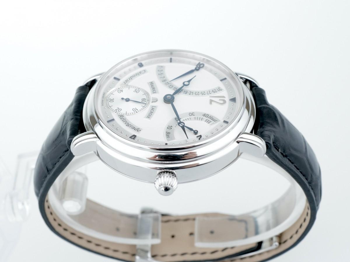 Швейцарские часы Maurice Lacroix Masterpiece Calendrier Retrograde Power Reserve