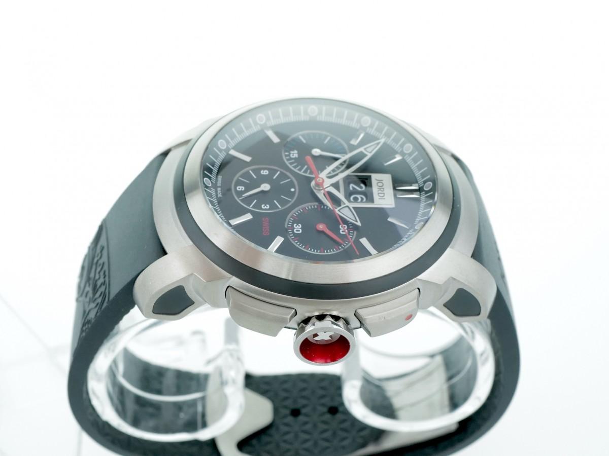 Швейцарские часы Michel Jordi Gletsch Big Date Chronograph Automatic Black