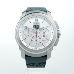 Швейцарские часы Michel Jordi Gletsch Big Date Chronograph Automatic White